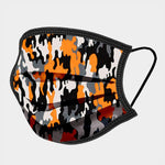 Load image into Gallery viewer, Camouflage Print Non-Medical Reusable Cotton Fashion Mask