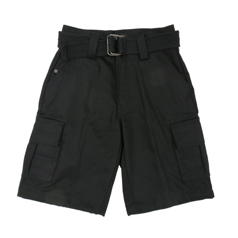 H&W Boy's Heavy Twill Cargo Shorts with 22 Variety of Colors