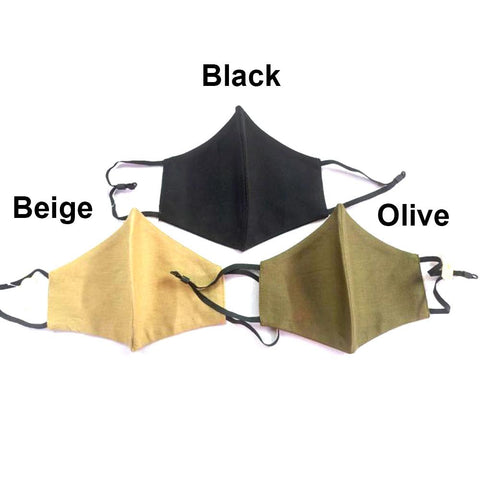 Solid Color Non-Medical Fashion Masks