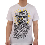 Henry & William Men's Pray Skull Graphic T-Shirt