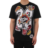 H & W Henry & William Men's 23 Boom Graphic T-Shirt