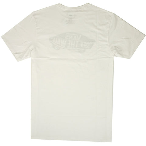 Vans Mens OTW Off The Wall SS T-Shirt White