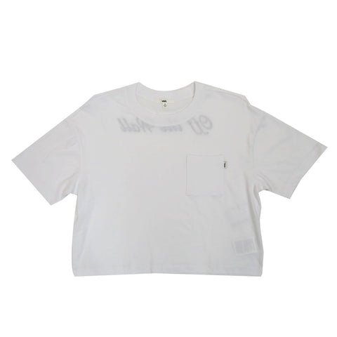 Vans Women's Brush Off Top OTW T-shirt in White
