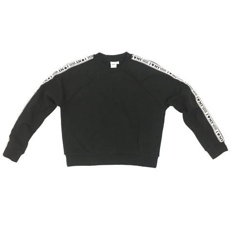 Vans Women's My Vans Crewneck Long Sleeve T-Shirt in Black