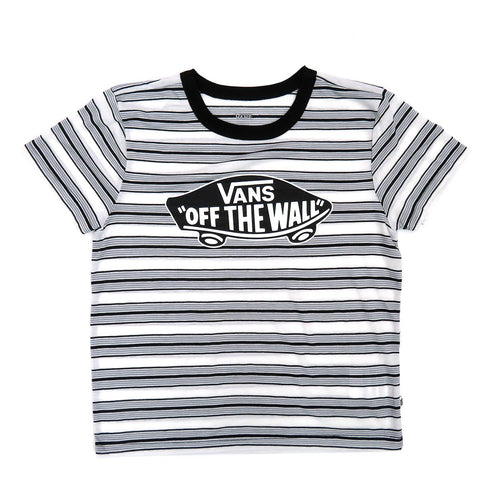 Vans Women's Introduction Stripe Logo T-shirt