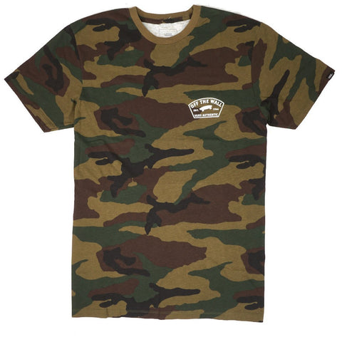 Vans Workwear Short Sleeve Camo T-Shirt