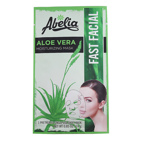 Abelia Aloe Vera Moisturizing Korean Face Mask-6 sheet