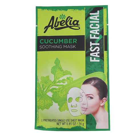 Abelia Cucumber Soothing Korean Face Mask-6 shett
