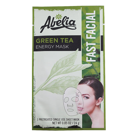 Abelia Green Tea Energy Korean Face Mask-6 sheet
