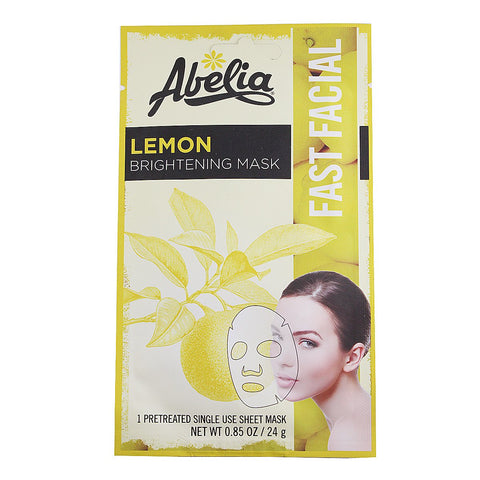Abelia Lemon Brightening Korean Face Mask-6 sheet