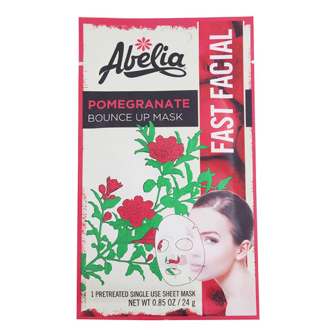 Abelia Pomegranate Bounce Up Korean Face Mask-6 sheet
