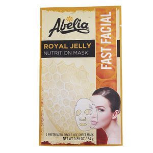 Abelia Royal Jelly Nutriton Korean Face Mask-6 sheet