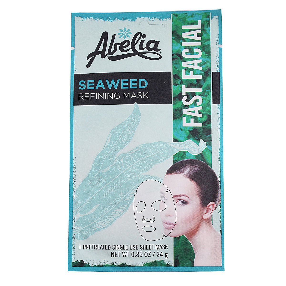 Abelia Seaweed Refining Korean Face Mask-6 sheet