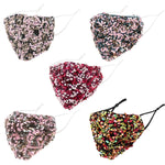 Load image into Gallery viewer, Multi Color Sequin Cluster Non-Medical Reusable Fashion Mask