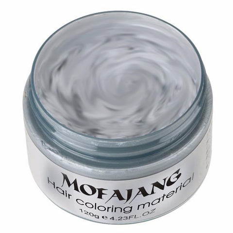 MOFAJANG Hair Color Wax Instant Hair Wax Temporary Hairstyle Cream 4.23 oz