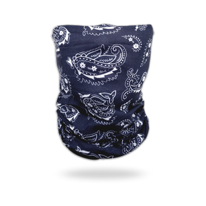 Unisex Multi Purpose Paisley Print Face Tube Mask Magic Scarf