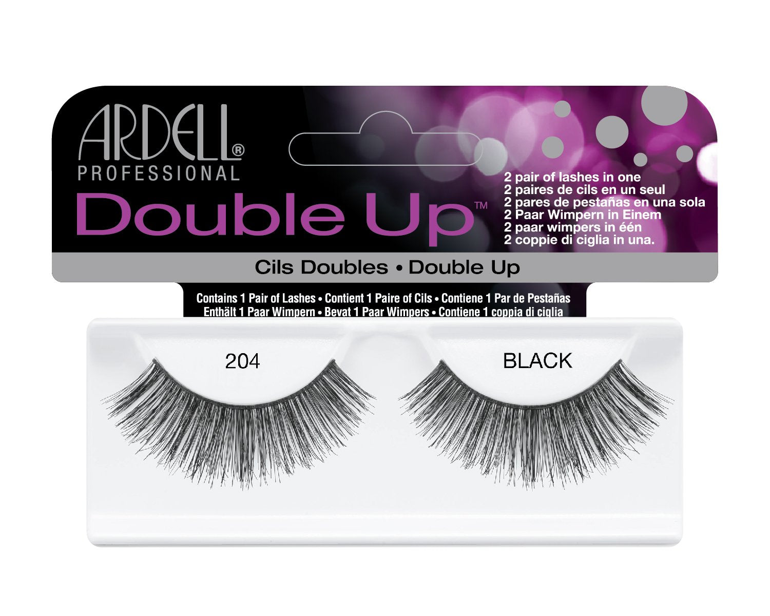 Ardell Lash Extension-Double up 204 Black