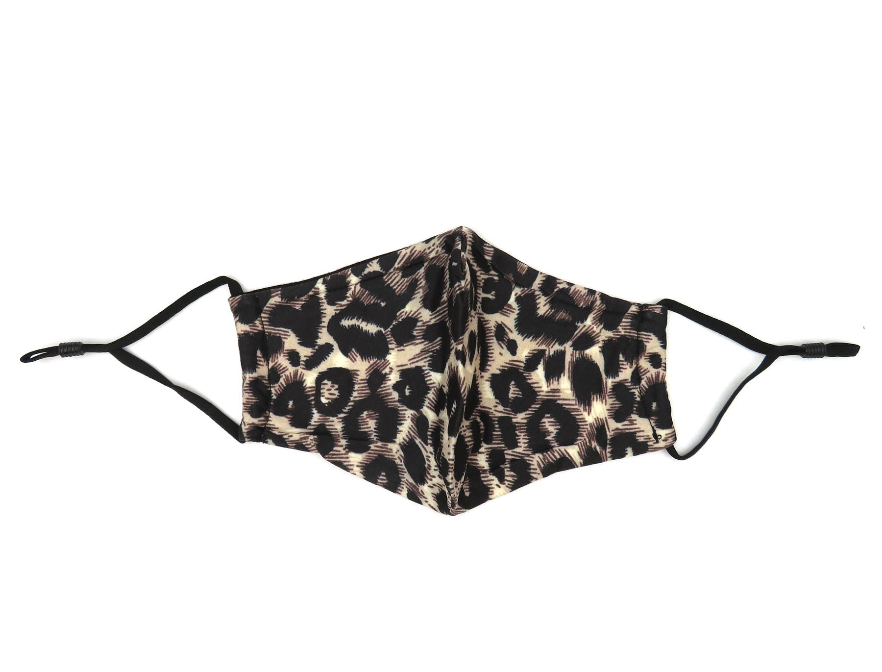 Leopard & Tropical Print Reusable Non-medical Fabric Face Covering Mask-Labor Day Special