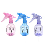 3 Pack Empty Plastic Spray Bottles for Hair or Cleaning Solution