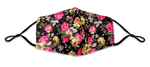 Load image into Gallery viewer, Rose Pattern Colorful Reusable Non- Medical Fabric Face Mask W/ Filter Pocket