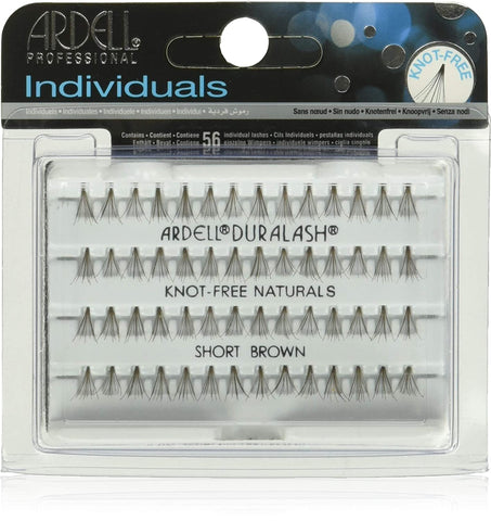 Ardell Lash Extension-individual knotfree Flare Short Brown