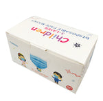 Kids Disposable Non-Medical Face Mask-50 Pcs in 1 Box, 3-Ply-Available in White