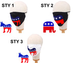 Load image into Gallery viewer, American Flag Elephant Non-Medical Fashion Masks
