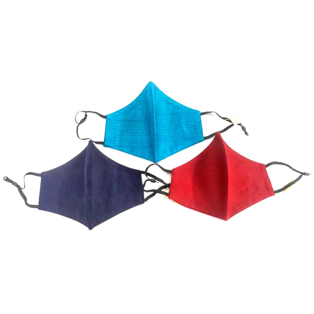 Solid Color Cotton Non-Medical Fashion Masks