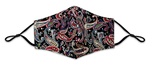 Load image into Gallery viewer, Paisley Print Non-Medical Unisex Reusable Fashion Face Masks
