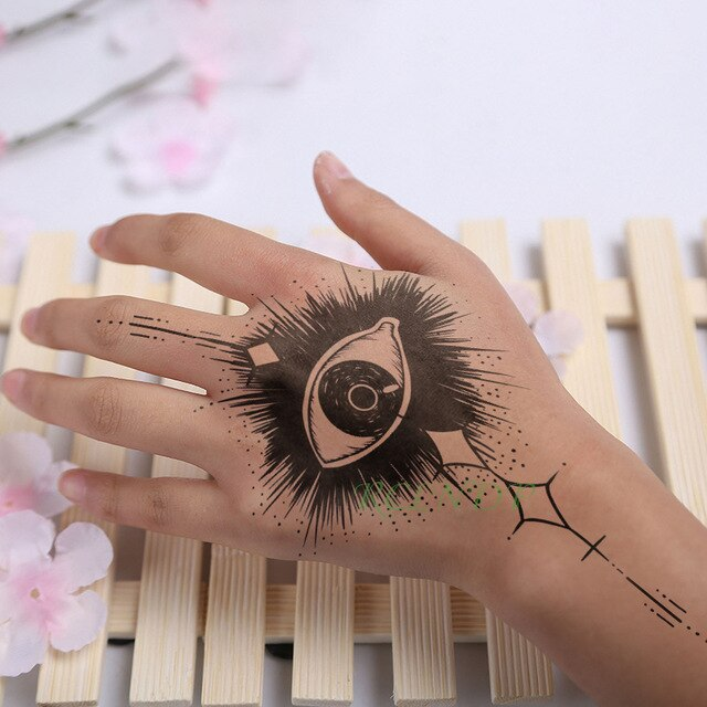Japan anime Inspired Waterproof Temporary Tattoo Sticker for Hand