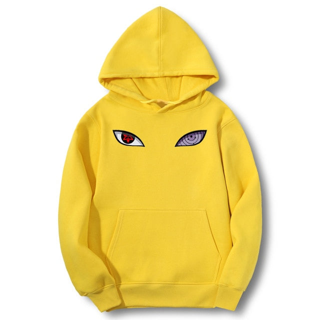 Men's Naruto Inspired Anime Hip Hop Fleece Casual Pullover Fashion Hoodie Sweatshirt