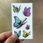 Load image into Gallery viewer, Body Love Wave Small Size Trendy Waterproof Temporary Tattoo Stickers For Women