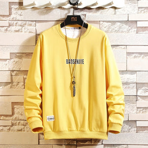 Fashion Brand Men Hoodies 2020 Spring Autumn Hip Hop Loose Casual Men's Sweatshirts Punk Streetwear Clothes