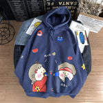 Load image into Gallery viewer, Funny Cartoon Printed Casual Couple Pullovers Hoodies Sweatshirts