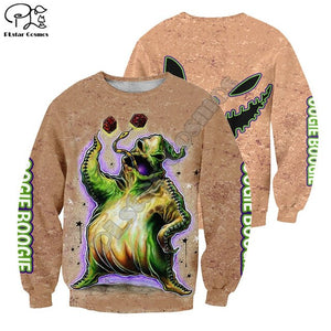 Halloween Nightmare before Christmas 3D Print Hoodies Sweatshirts