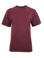 Load image into Gallery viewer, Men's Plain T-Shirt-Black, Red, Kelly Green, Khaki, Burgundy, Charcoal, Royal, Orange, Olive, Sky Blue , 9 Size/ S to 6XL