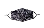 Load image into Gallery viewer, Snakeskin Pattern Reusable Non- Medical Fabric Face Mask W/ Filter Pocket