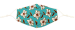 Load image into Gallery viewer, Flower Pattern Reusable Non- Medical Face Mask W/ Filter Pocket-Labor Day Special
