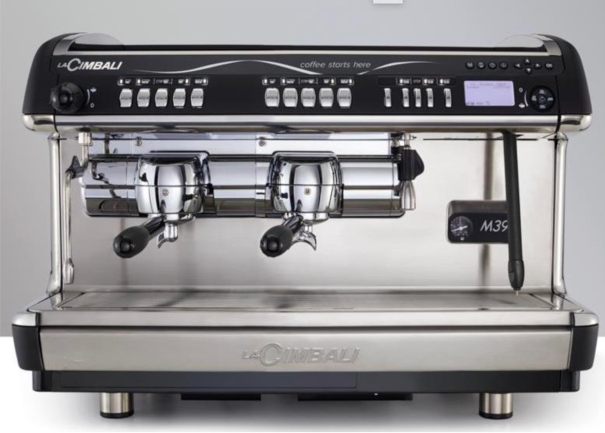CIMBALI M39 RE Turbosteam Cafetera Automática 2 grupos
