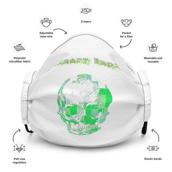 Luminary Empire Neon face mask