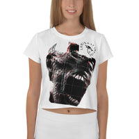 Screaming Mummy crop top