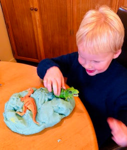 Home Made playdough recipe