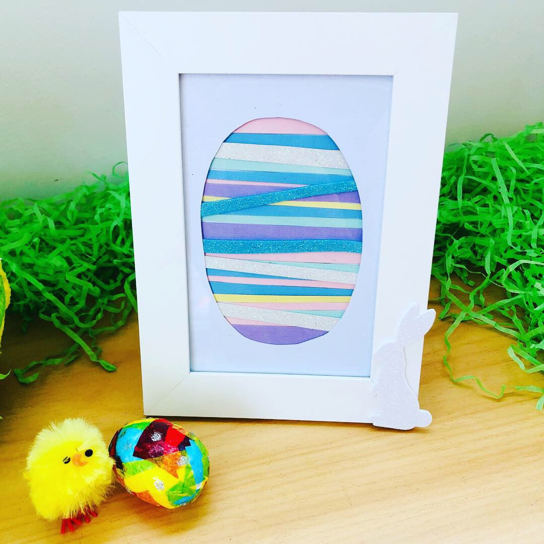 Kids Easter Egg Frame