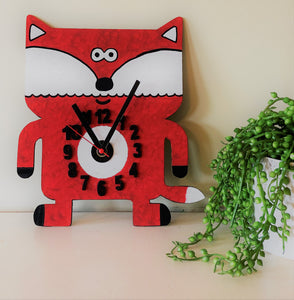 Make your own fox clock