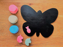Chalk making kit and DIY blackboard, butterfly blackboard