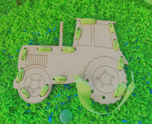 Kids Crate Threading Tractor
