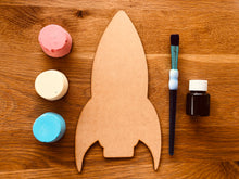 Chalk making kit and DIY rocket blackboard