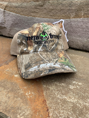 Realtree Mesh Back- New Breed Archery Hat