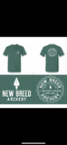 Short Sleeve New Breed Archery T-Shirt - Comfort Color (Green)