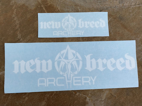 LARGE - New Breed Archery Sticker (Decal)
